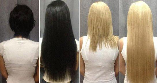 Если вы решили изменить имидж и наростить длинные волосы, кератиновое наращивание волос это лучший метод для наращивания