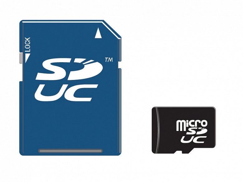 Карты памяти SD Express поддерживают PCIe и NVMe