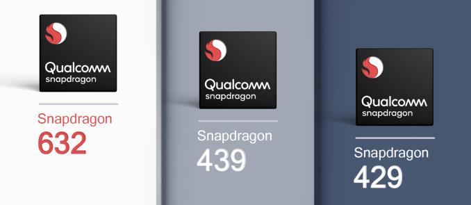 Qualcomm представила SoC Snapdragon 632, 439 и 429