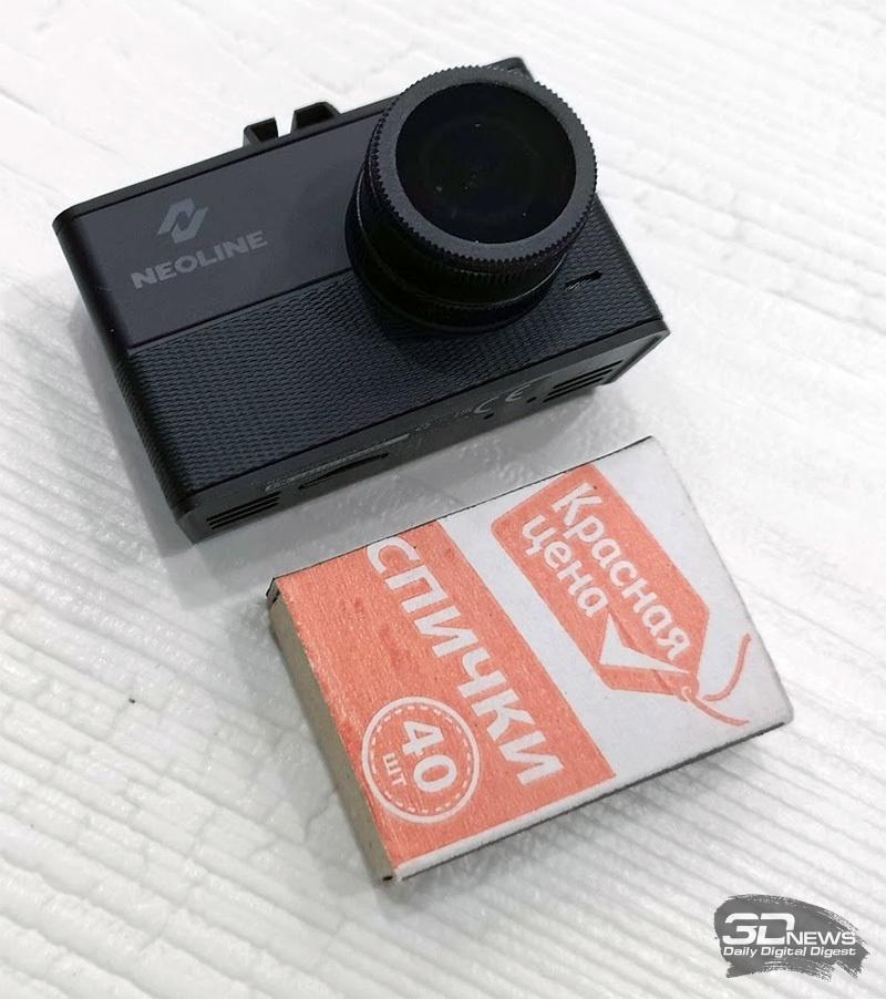 Новая статья: Обзор видеорегистратора Neoline Wide S31: с широко открытыми глазами