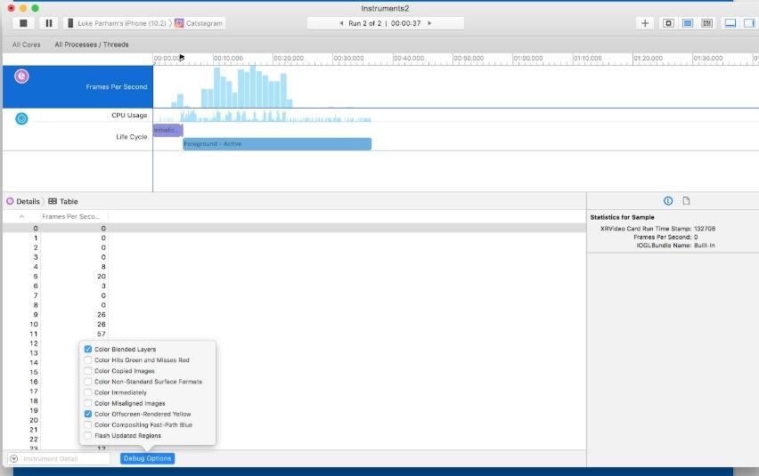 Производительность в iOS — Core Animation, Offscreen Rendering и System Trace. Часть 2 - 2
