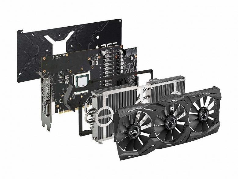 Нереференсная видеокарта Radeon RX Vega 64 Arez Strix поступила в продажу по цене 750 долларов - 2