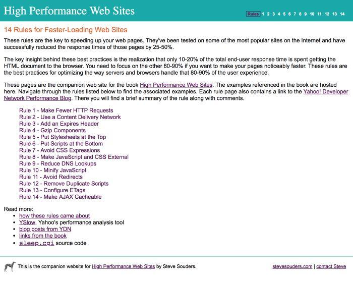 Обеспечение быстрой работы сайта как часть конвейера разработки - 3