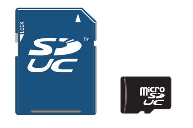 Будущие SD-карты смогут хранить 128 ТБ данных