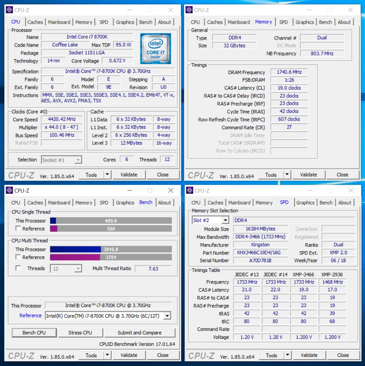 Зачем флагманскому процессору топовая память? Тестирование комплекта HyperX Fury DDR4-3466 - 4