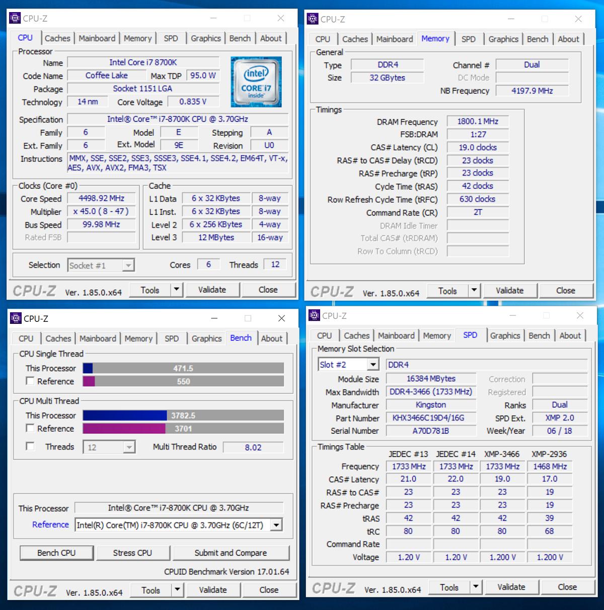 Зачем флагманскому процессору топовая память? Тестирование комплекта HyperX Fury DDR4-3466 - 7