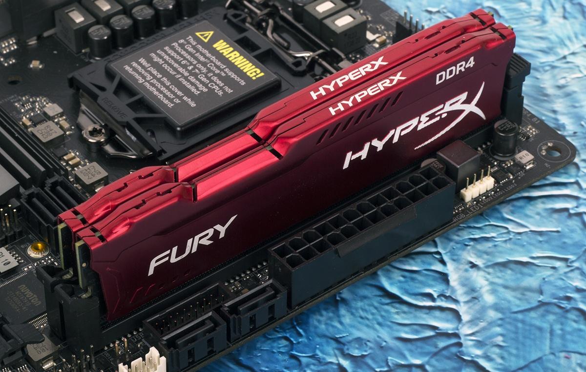 Зачем флагманскому процессору топовая память? Тестирование комплекта HyperX Fury DDR4-3466 - 1