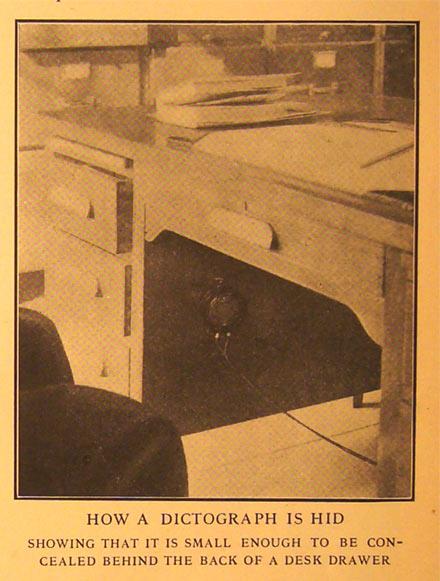 Аудиогаджет специального назначения: Dictograph — от цеха и оперы до первой прослушки, технический шедевр 1907-го года - 14