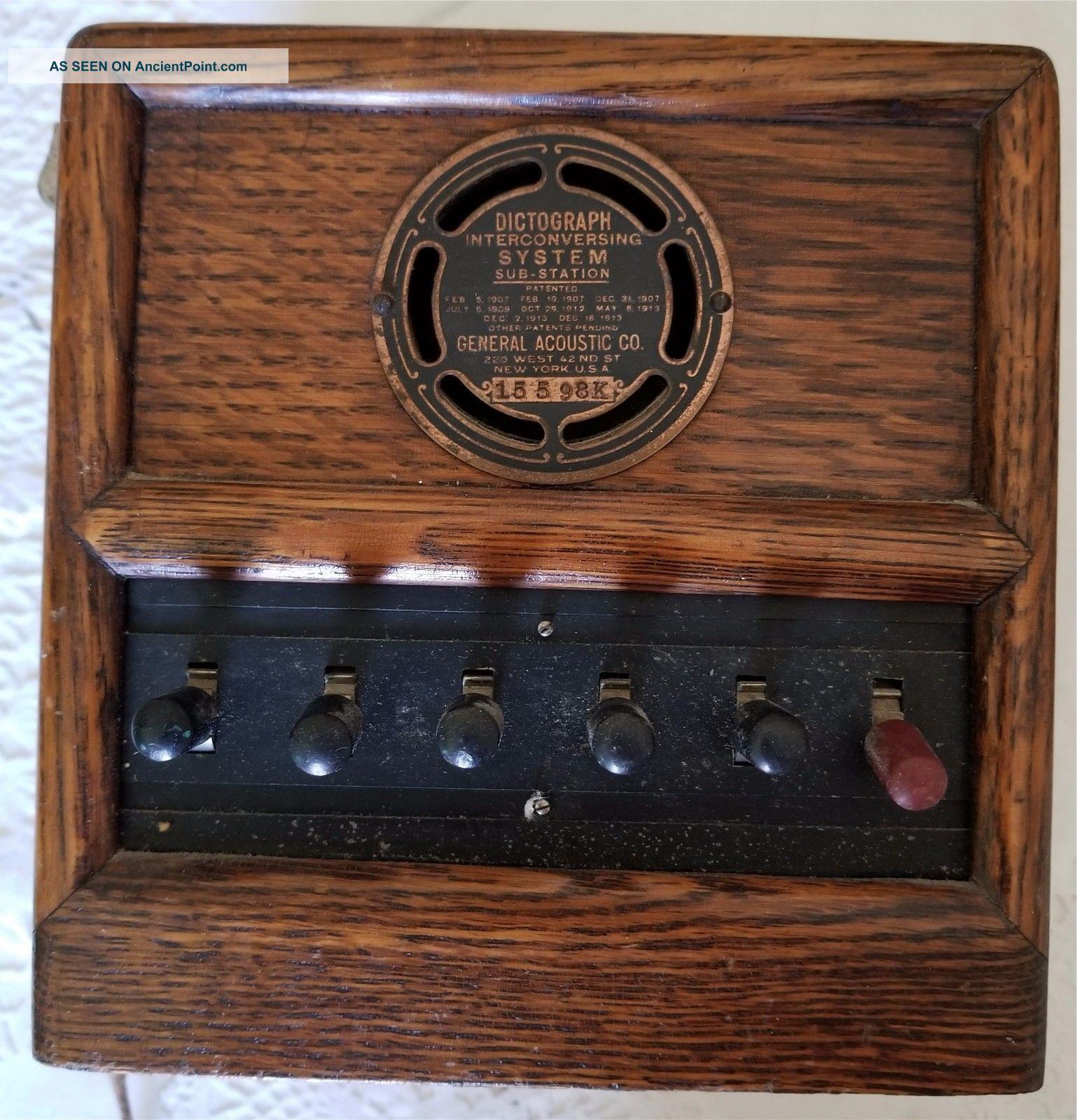 Аудиогаджет специального назначения: Dictograph — от цеха и оперы до первой прослушки, технический шедевр 1907-го года - 8