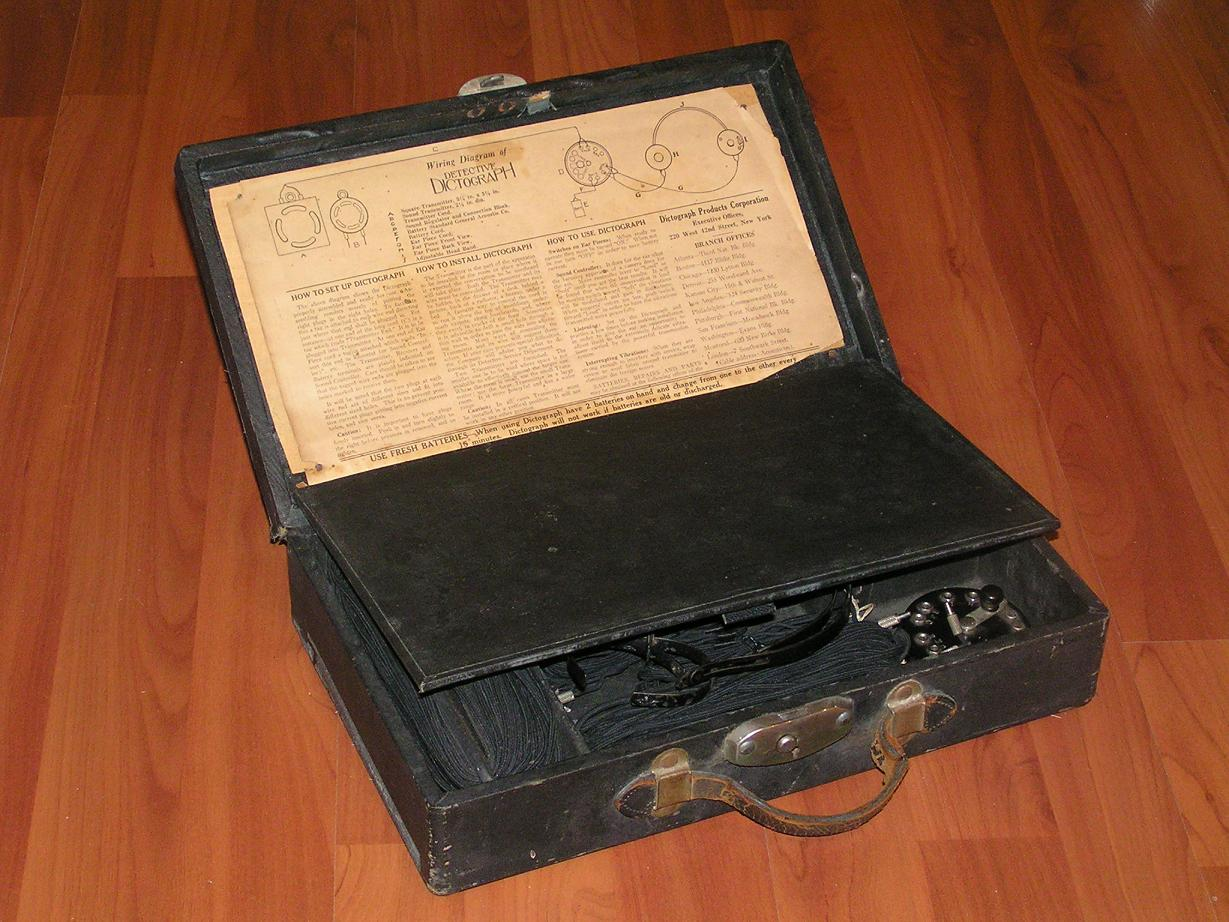 Аудиогаджет специального назначения: Dictograph — от цеха и оперы до первой прослушки, технический шедевр 1907-го года - 9