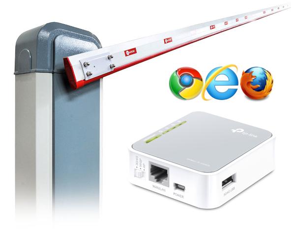 Доработка модуля шлагбаума Doorhan GSM для управления через интернет - 1