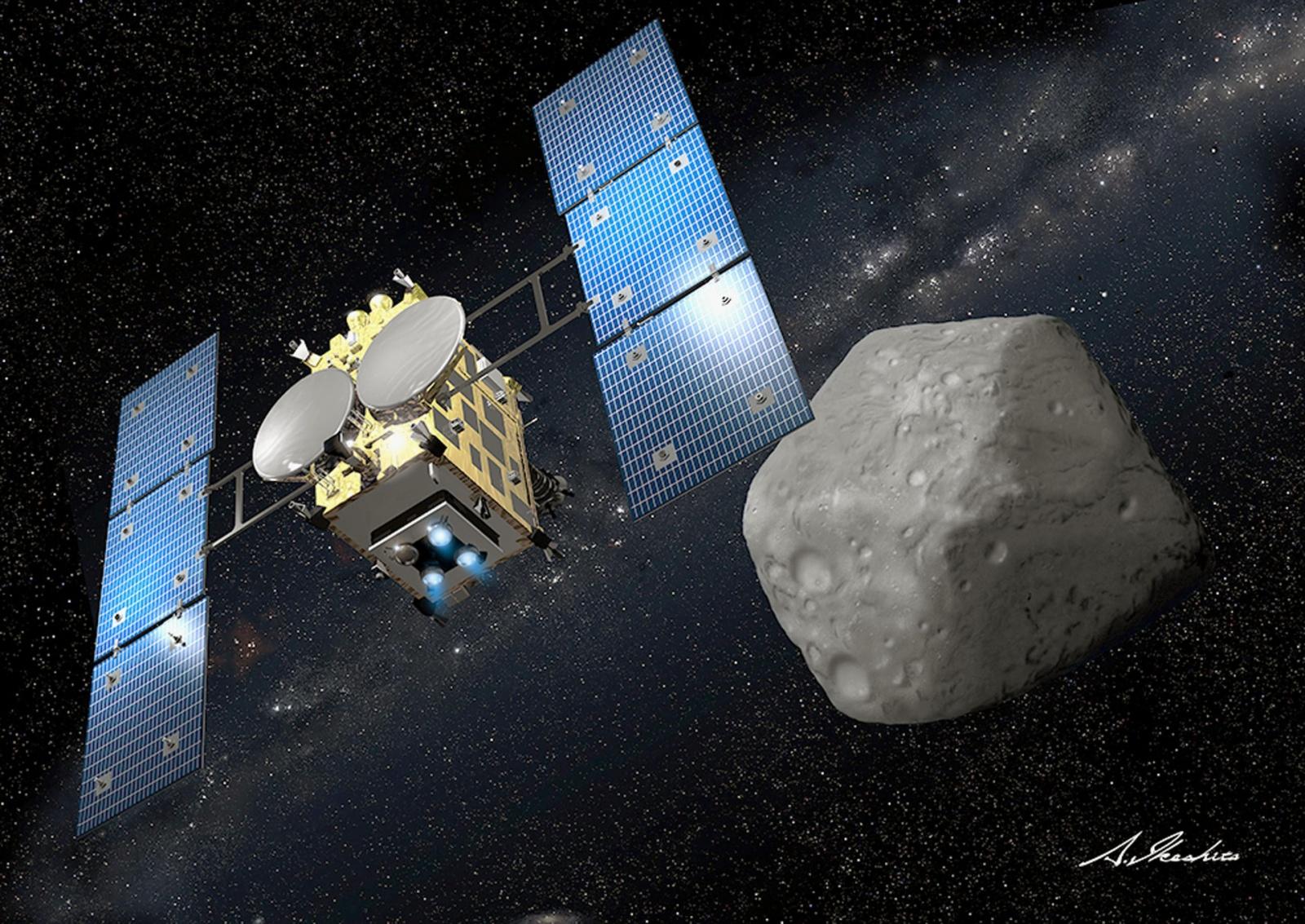 Миссия «Хаябуса-2»: астероиды раскрывают историю Солнечной системы - 4