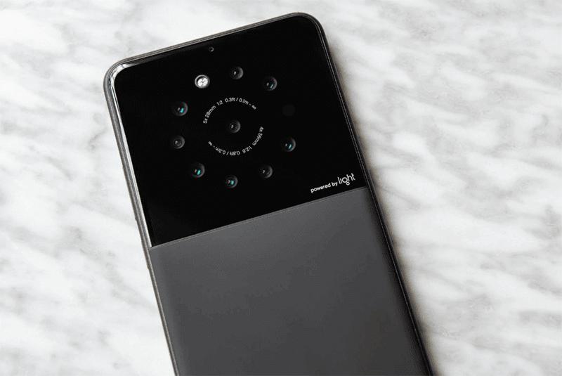 Light может выпустить смартфон с 9 камерами