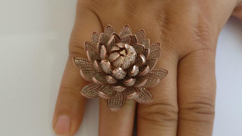 Кольцо с 6 690 бриллиантами: новый мировой рекорд