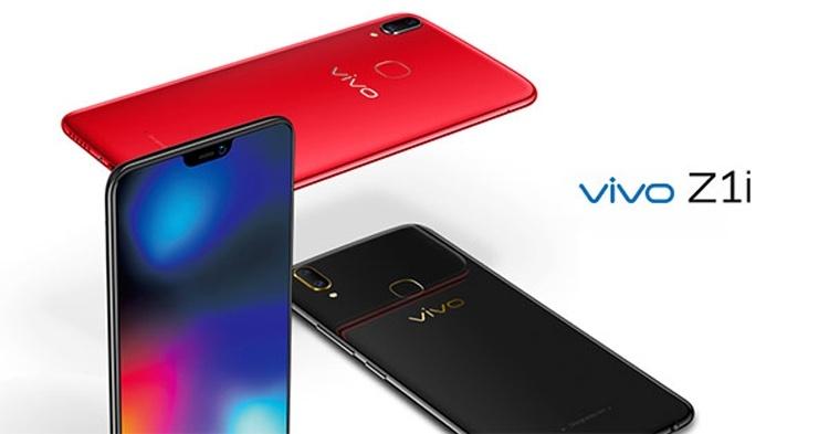 Смартфон Vivo Z1i оснащён дисплеем с вырезом и двойной камерой
