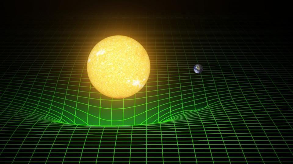Спросите Итана: если масса искривляет пространство-время, как оно распрямляется обратно? - 1