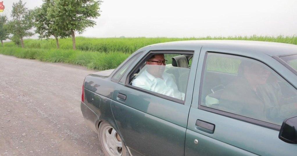 Старая «Приора» — новый автомобиль Ким Чен Ына
