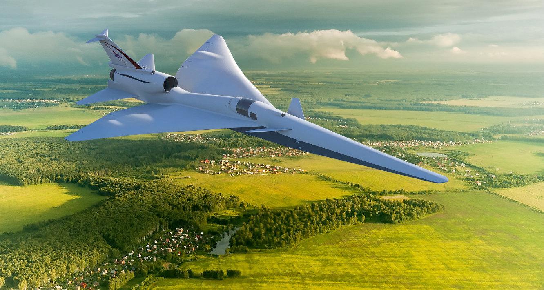 «Тихий» сверхзвуковой самолет NASA получил новое название