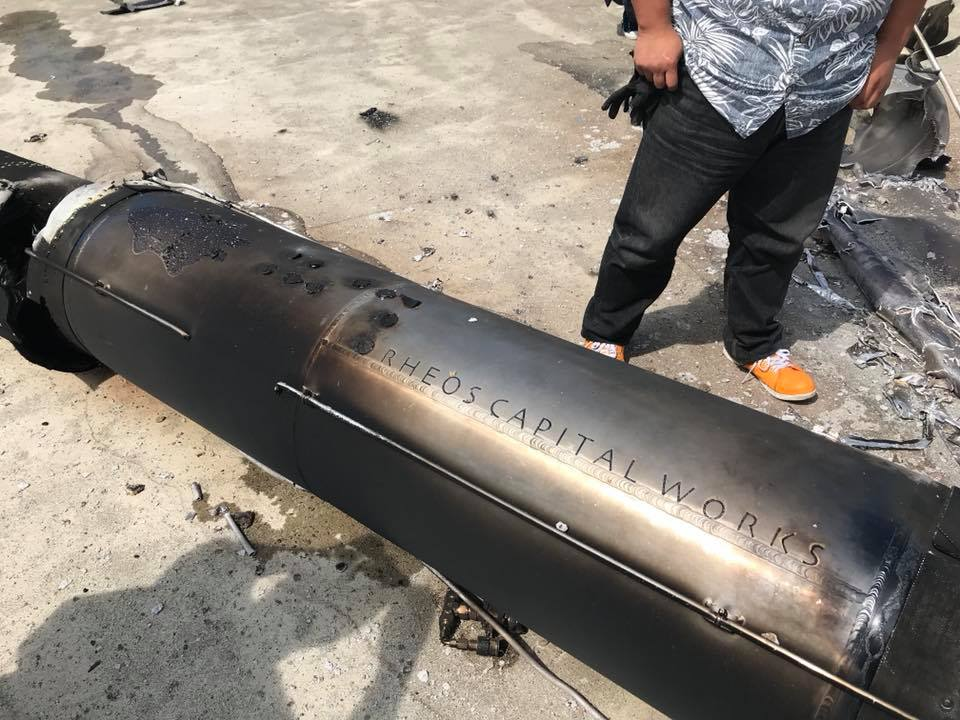 Японская частная ракета MOMO-2 взорвалась на стартовой площадке - 3