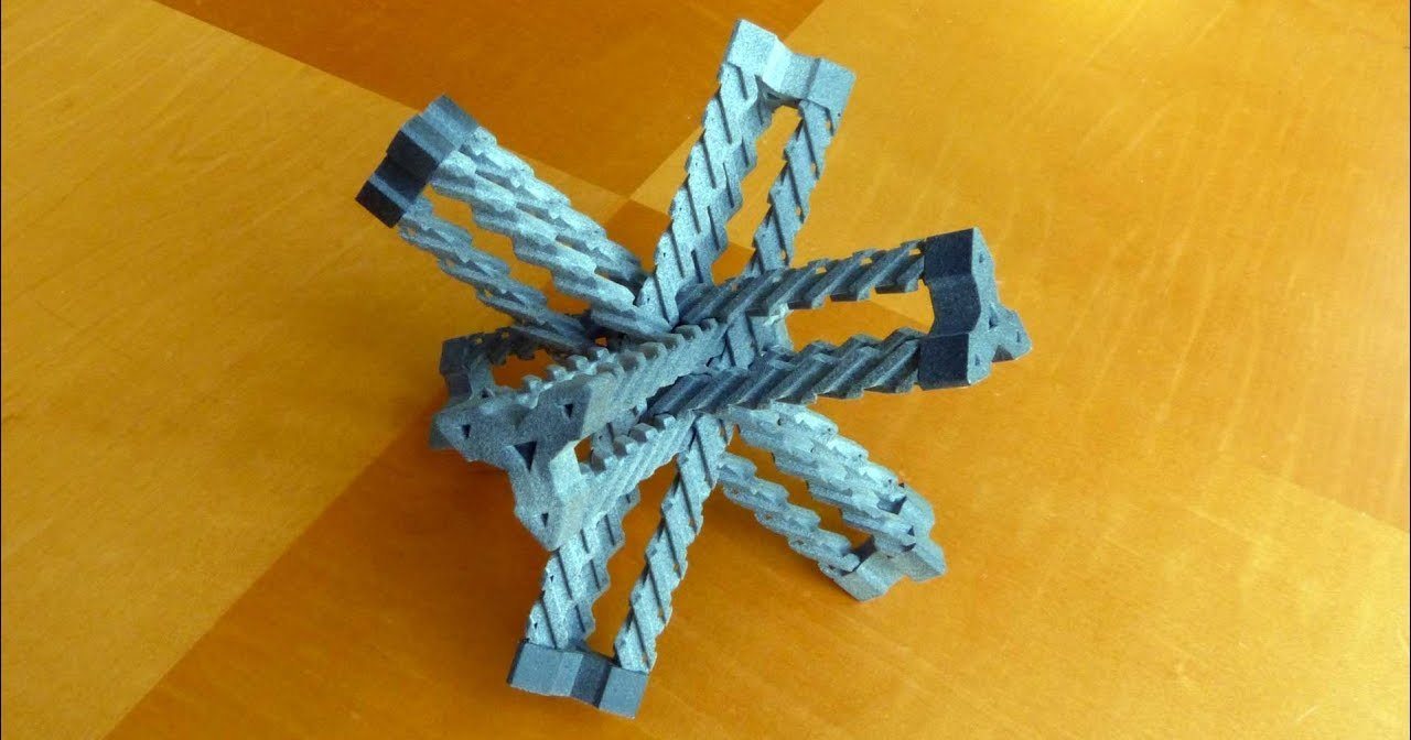Необычная передача в форме тетраэдра: на стыке дизайна и функционала