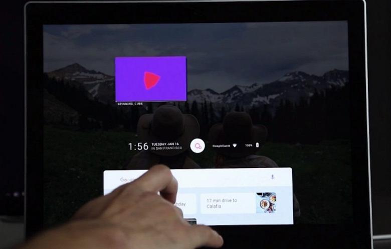 ОС Fuchsia получит приложение YouTube