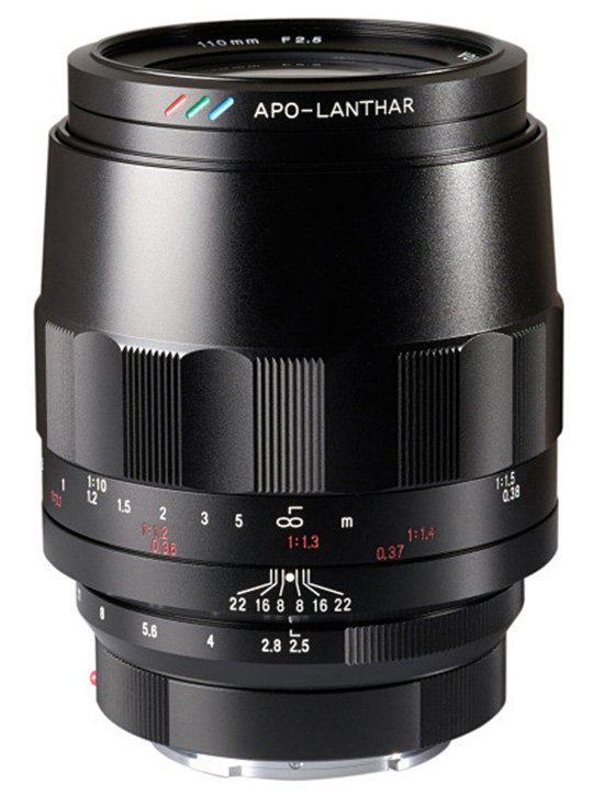 Стала известна цена и дата начала продаж объектива Voigtlander Macro APO Lanthar 110mm f/2.5 с креплением Sony E