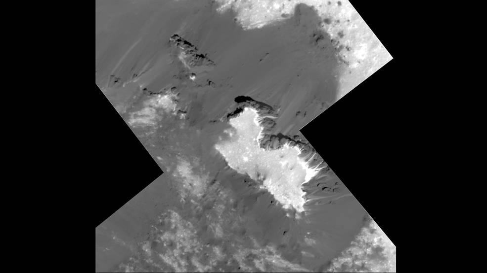 Зонд Dawn прислал детальные снимки белых пятен Цереры: это обычная сода - 1