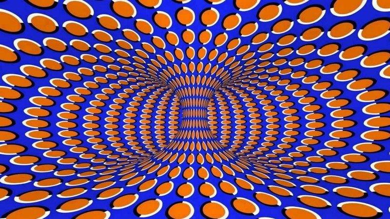 Оптические иллюзии движения: 10 взрывов мозга