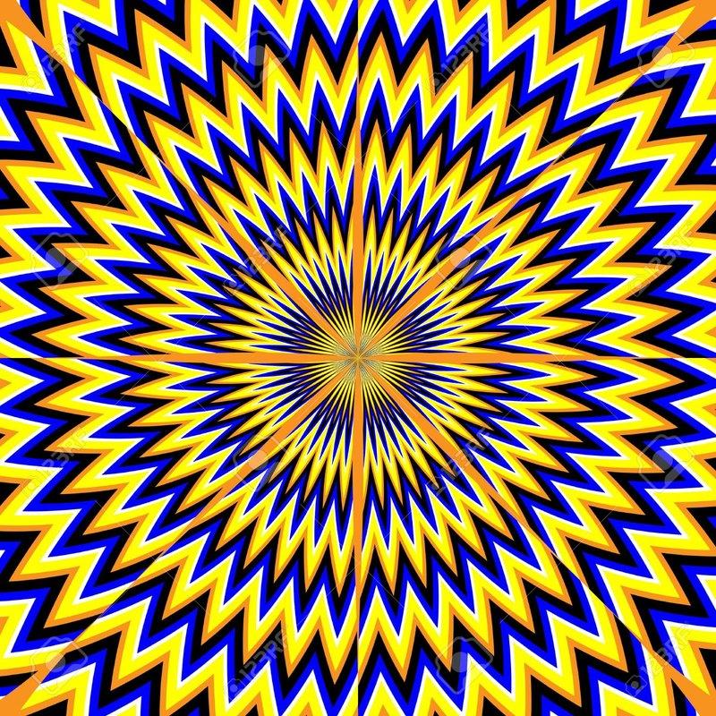 всего иллюзия движущаяся картинка способствуют