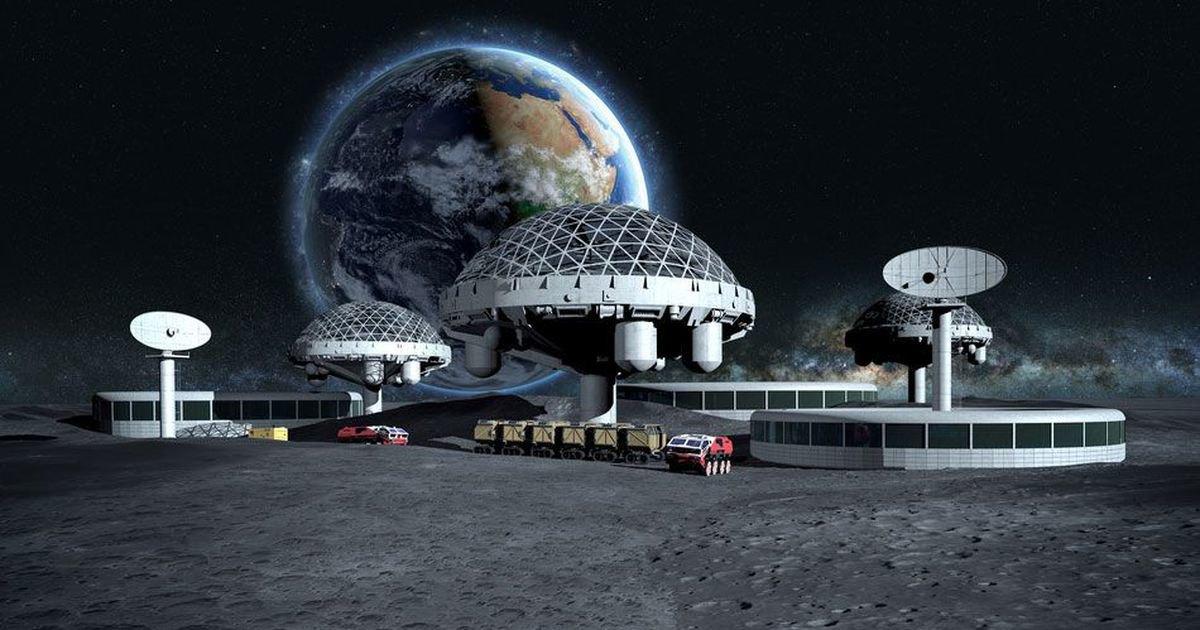 Blue Origin: начало колонизации Луны уже в 2023 году