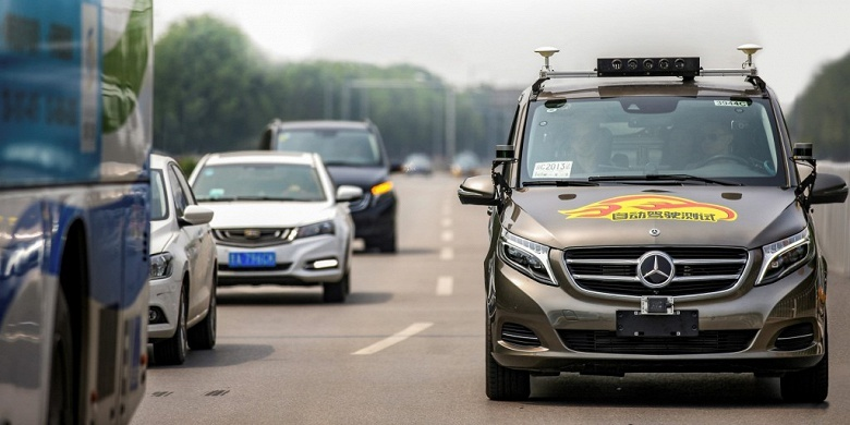 Daimler разрешили испытывать самоуправляемые авто на китайцах