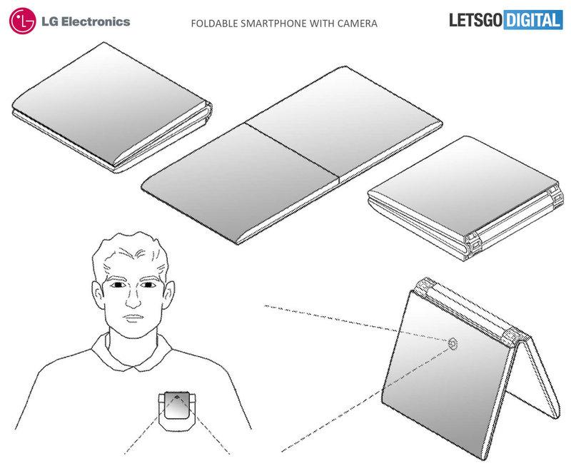 LG запатентовала еще один складной смартфон