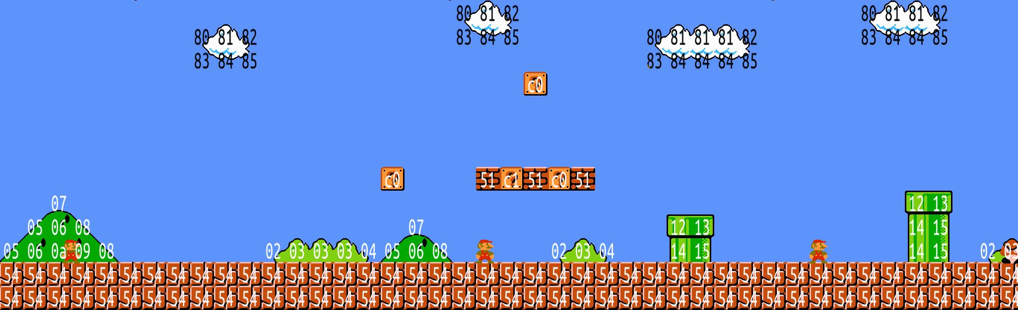 Извлекаем уровни из Super Mario Bros с помощью Python - 1