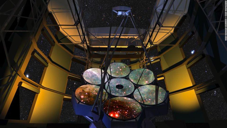 Крупнейший в мире телескоп, наконец, сможет увидеть звёзды без дифракционных лучей - 8