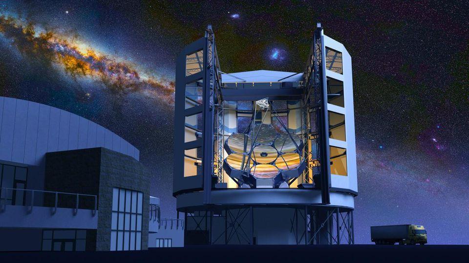 Крупнейший в мире телескоп, наконец, сможет увидеть звёзды без дифракционных лучей - 1