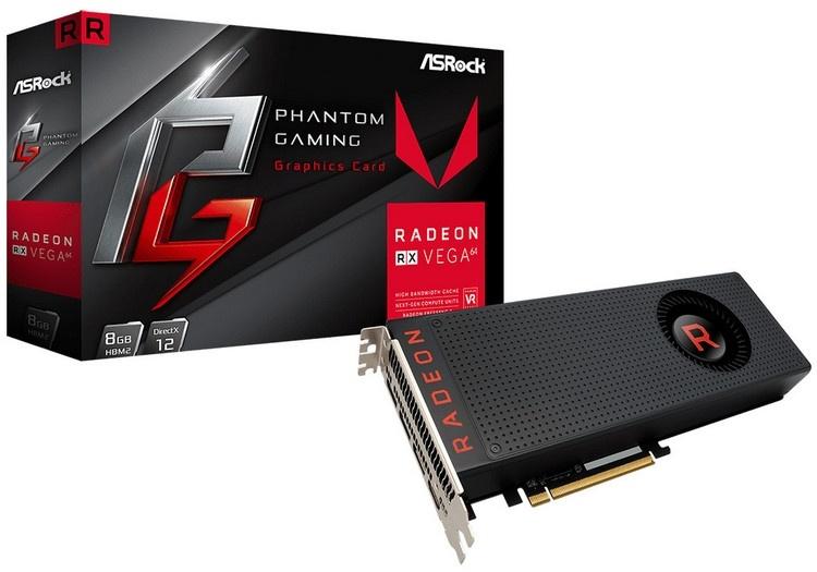 ASRock представила видеокарты Radeon RX Vega Phantom Gaming X