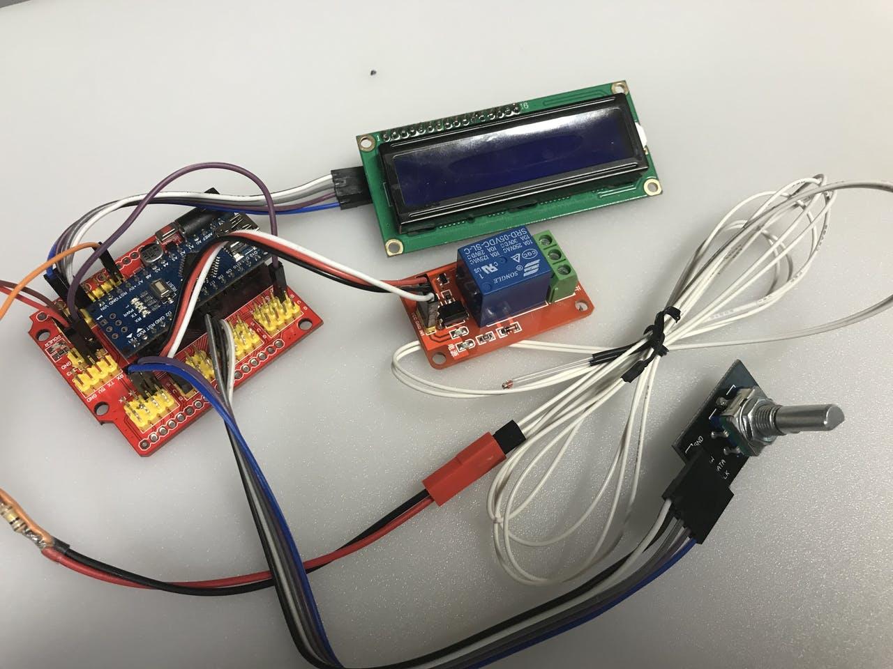 «Сторож» 3D-принтера и испытатель термисторов - 3