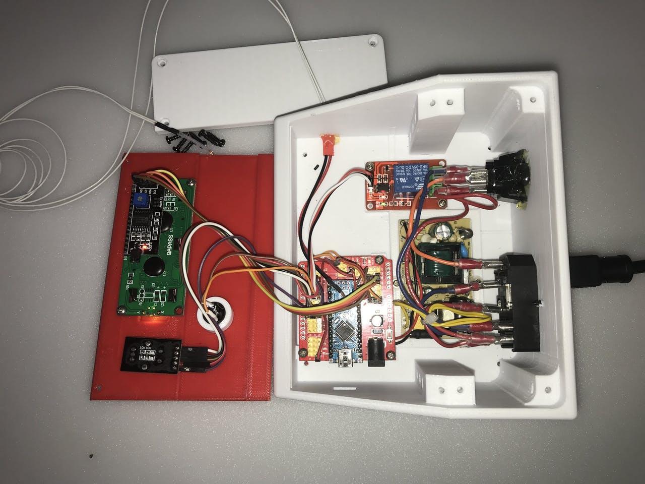 «Сторож» 3D-принтера и испытатель термисторов - 4