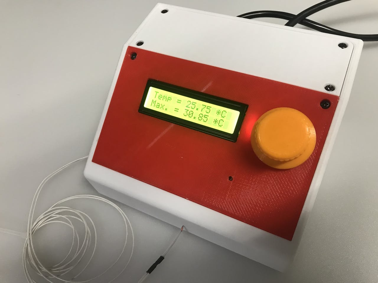 «Сторож» 3D-принтера и испытатель термисторов - 1