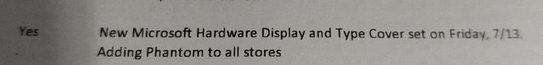 Дешёвый планшет Microsoft Surface представят уже в пятницу