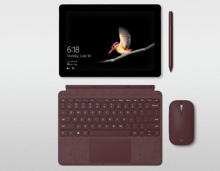 Microsoft представила планшет Surface Go стоимостью от 9