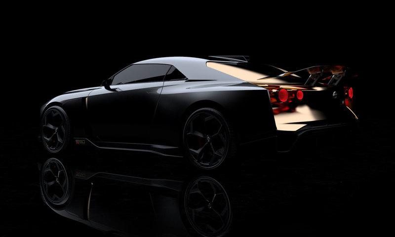 Nissan покажет в Гудвуде GT-R50 от Italdesign