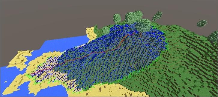 Алгоритм поиска пути A* в воксельной 3d игре на Unity - 5