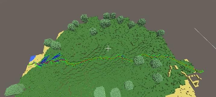 Алгоритм поиска пути A* в воксельной 3d игре на Unity - 7