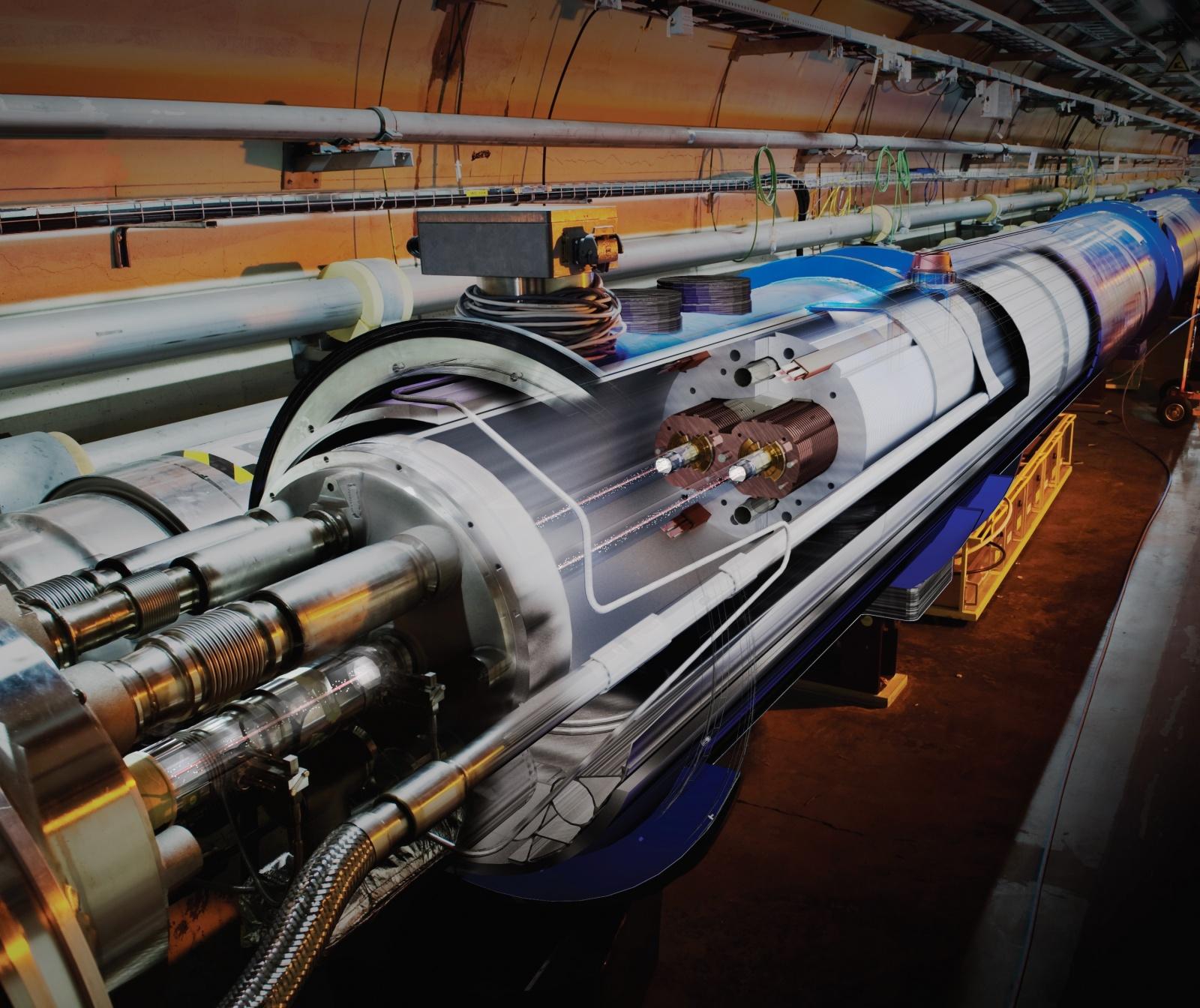 Анализ срывов сверхпроводимости магнитов Большого адронного коллайдера в CERN - 1