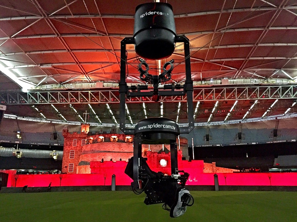 Что за роботы-пауки летают над стадионами и снимают футбол. Интервью с создателем Robycam - 4
