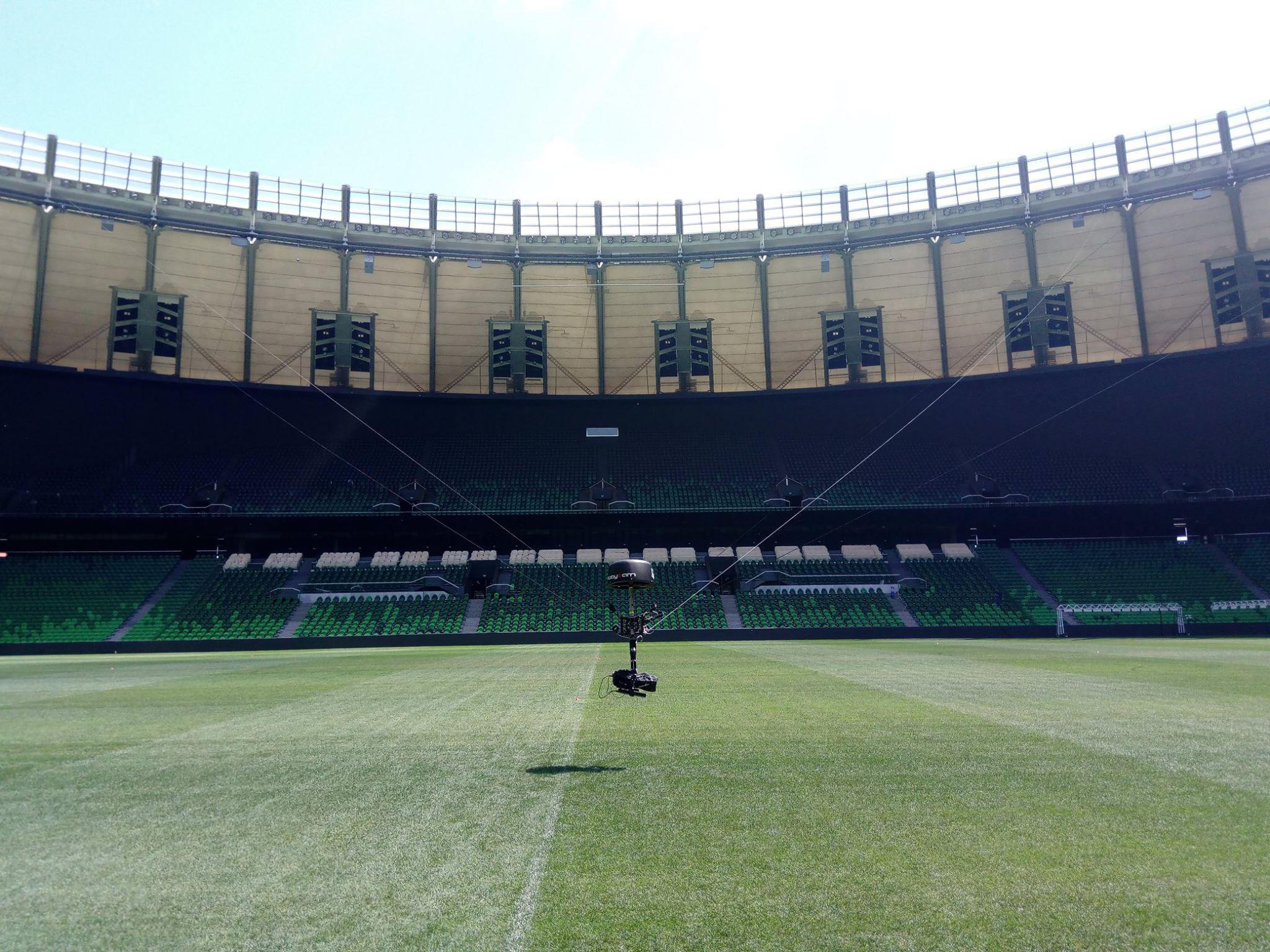 Что за роботы-пауки летают над стадионами и снимают футбол. Интервью с создателем Robycam - 9