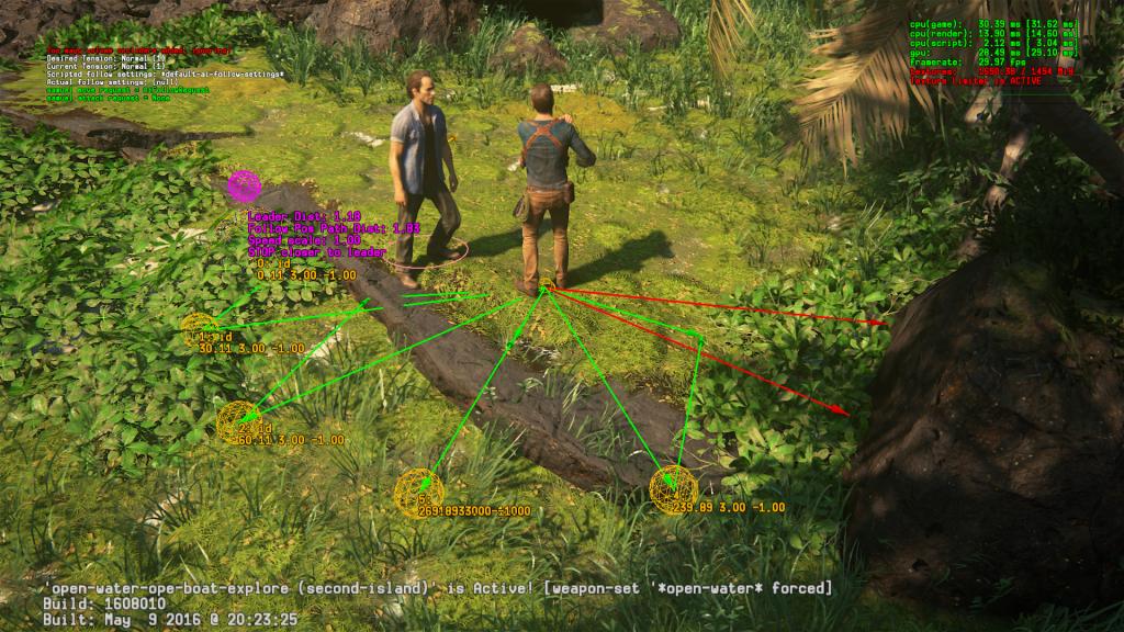 Моё участие в разработке Uncharted 4 - 3