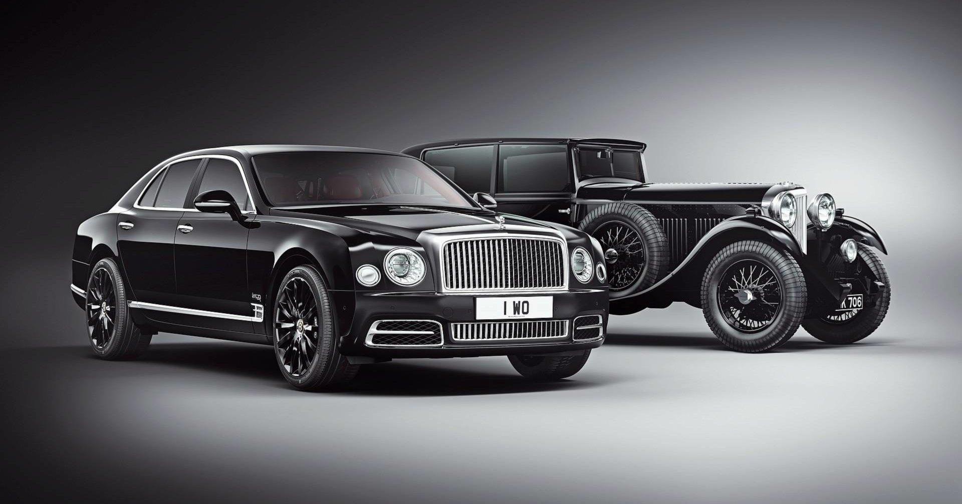 Новый Bentley получит коленвал в салоне
