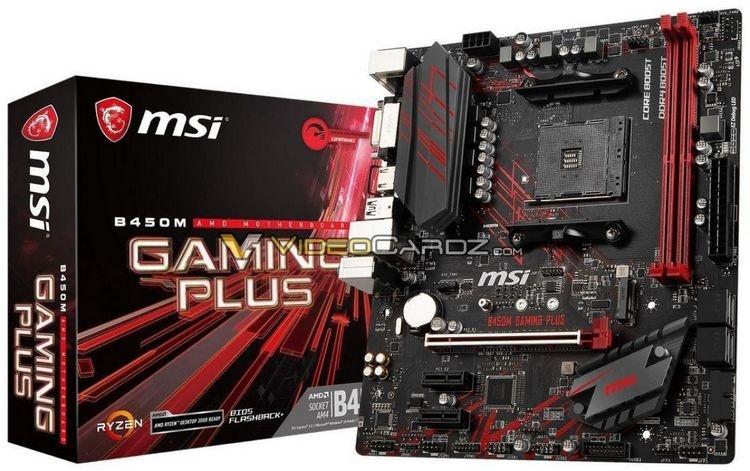Опубликованы изображения материнских плат ASRock, ASUS, Gigabyte и MSI на чипсете AMD B450